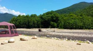1. Crawford Notch Campground, Heart's Location