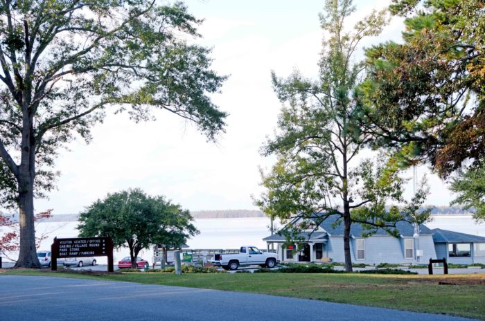 """Santee State Park is a great place to start your exploration of South Carolina's """"inland sea."""""""