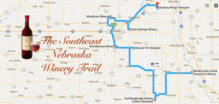 At present, eight wineries participate in the Winery Trail.