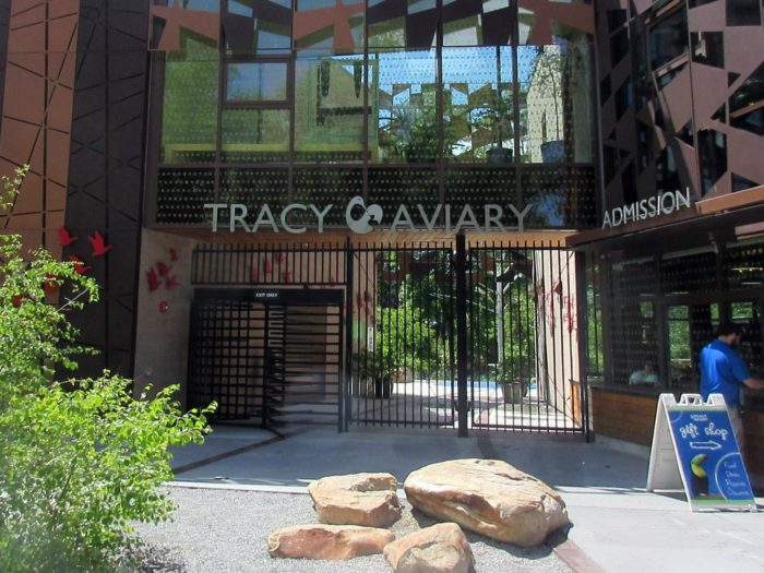 Tracy Aviary is tucked away on the west side of Liberty Park in Salt Lake City.