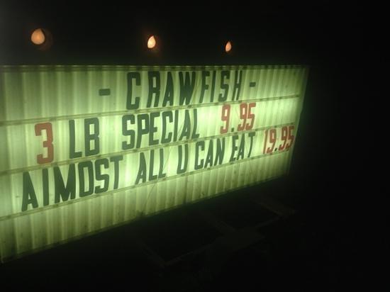 During crawfish season, Roadside also offers crawfish buffet options.