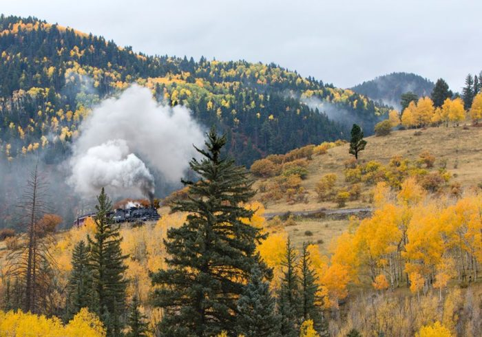 Chama is also where you'll find the Cumbres and Toltec Scenic Railroad.