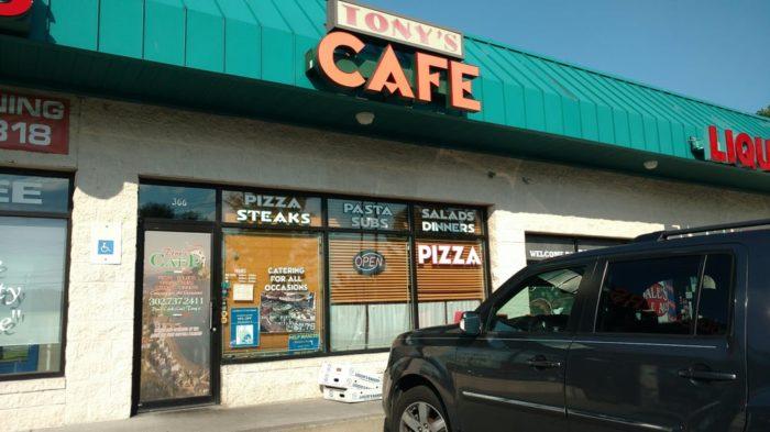 12. Tony's Cafe, Newark