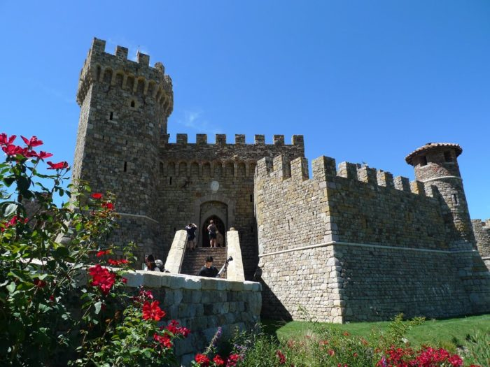 Castello di Amorosa is part medieval castle and part winery. Open since 2007, it was built on a foundation of love between a grandson and grandfather.