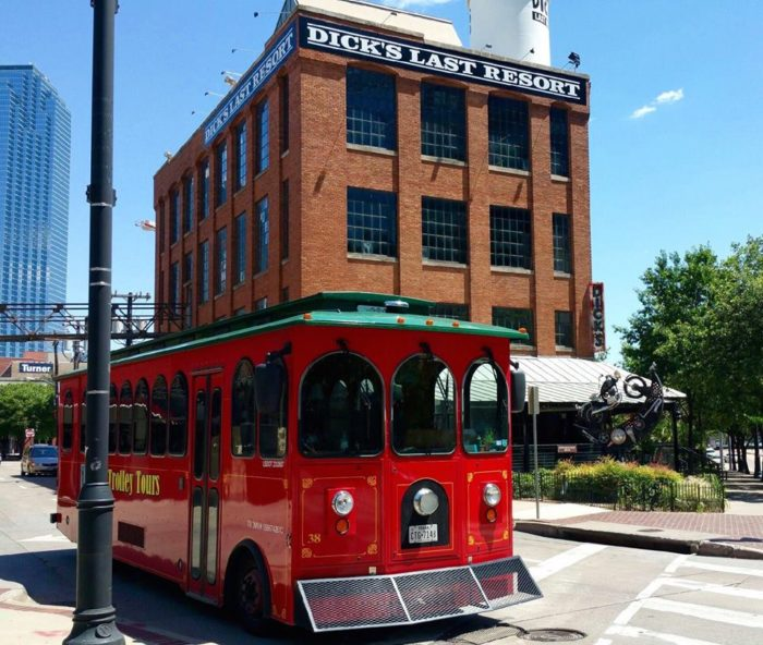 I think we all want to pretend like we're British for a day by taking a trolley ride. Dallas offers that exact opportunity, and it's simply magical.