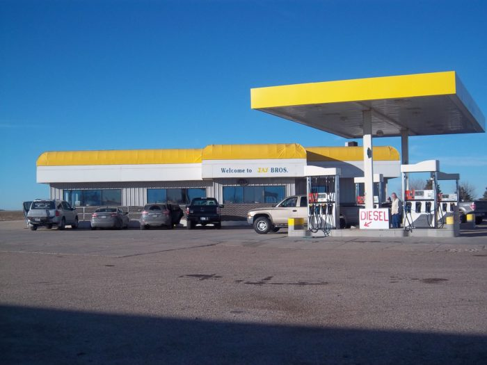 Pull off of the interstate at the Overton exit and you'll immediately see the yellow and white Jay Bros. truck stop. It looks a little old and you might even question whether it's still open. But pull into the parking lot and you'll see that this place is still very much in business.