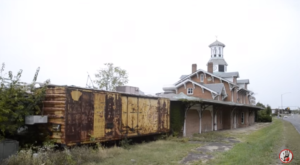 A Once Popular Train Station Restaurant Is Now Decaying In America's Heartland