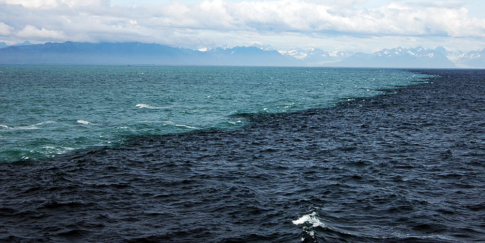 gulf of alaska two oceans meet snopes