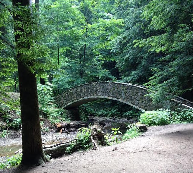 The stone bridges are enchanting...