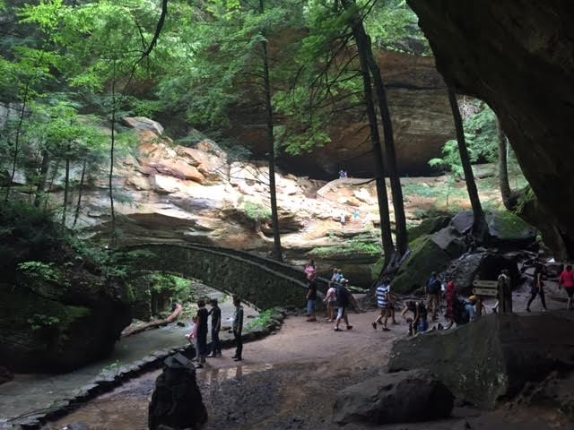 ...and they lead to some really breathtaking places, such as Old Man's Cave itself, (pictured.)
