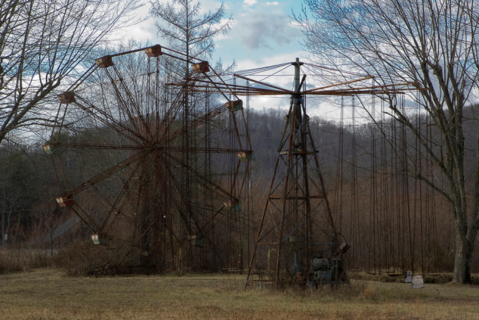 this haunted amusement park in west virginia is truly scary