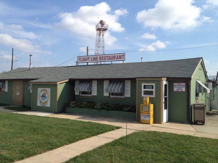 Verna's Flight Line Restaurant - Millville