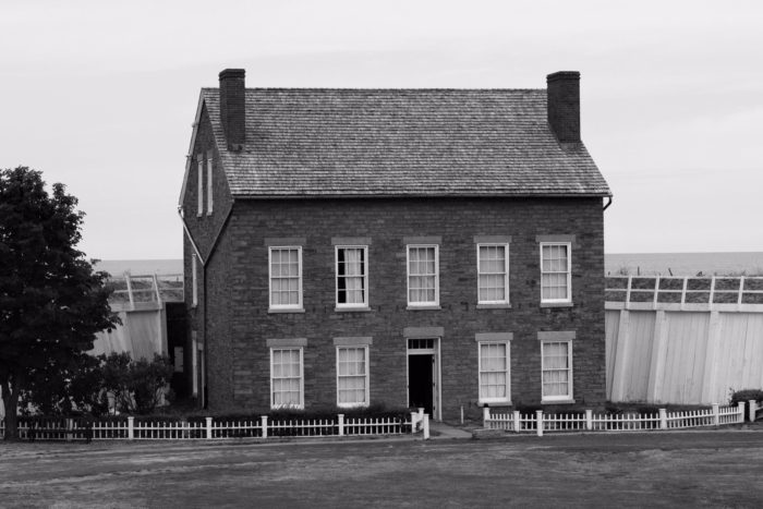 The historic Fort Ontario has had a bit of a rough history, destroyed and burned down three times since it was originally built in 1755.
