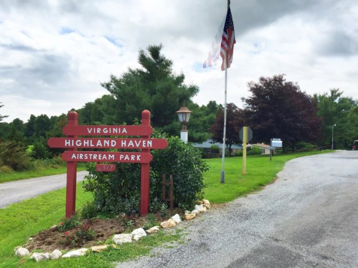 5. Virginia Highland Haven Airstream Park (Copper Hill)