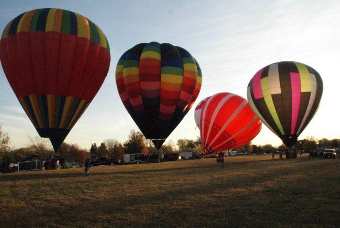 13. Wakefield Balloon Days
