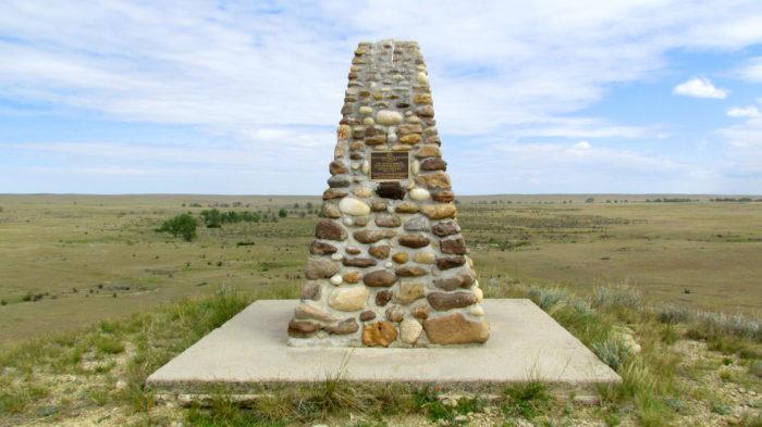 warbonnet creek memorial marker