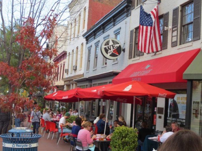6.  We, the Pizza - 305 Pennsylvania Avenue SE