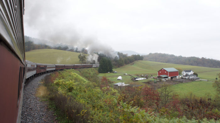 Rail fans, families and anyone looking for an adventure or to see some beautiful scenery will love this train ride through scenic Western Maryland this fall!