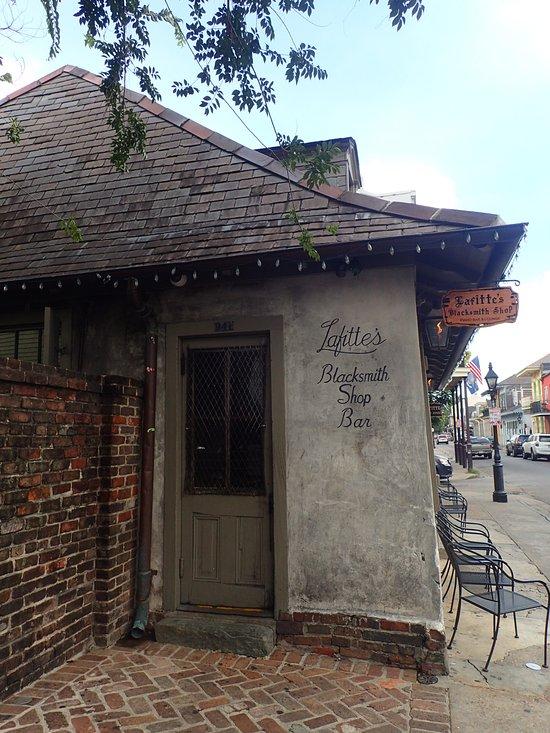 5) Jean Lafitte's Blacksmith Shop, 941 Bourbon St.