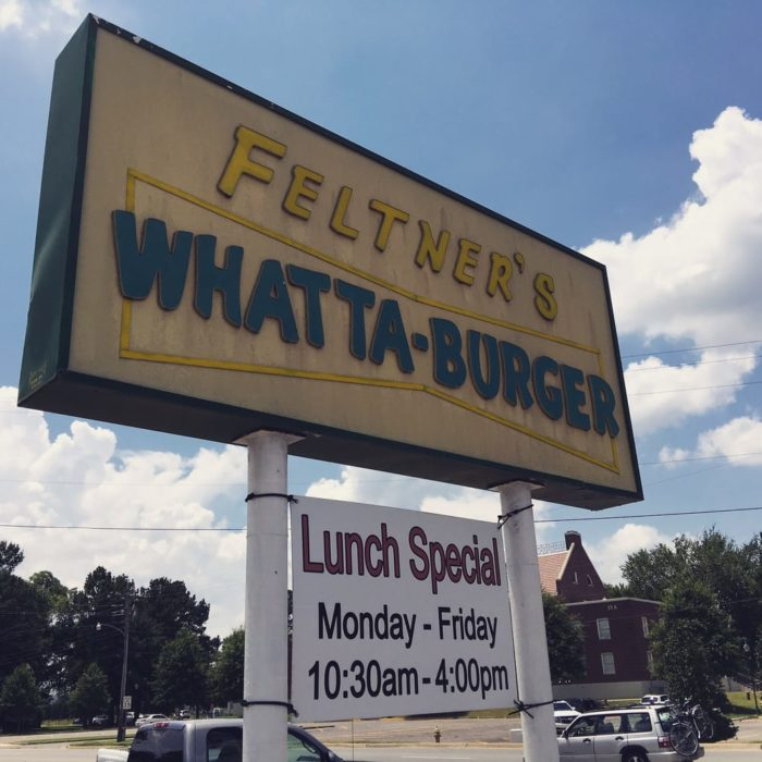 2. Feltner's Whatta Burger (Russellville)