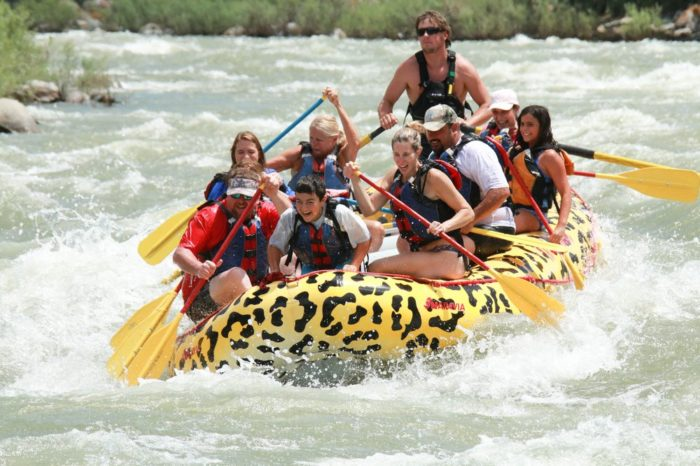 7. Be brave and go rafting.