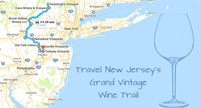 Grand Vintage North Jersey Wine Trail