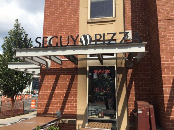 2. Wiseguy NY Pizza - 300 Massachusetts Ave NW