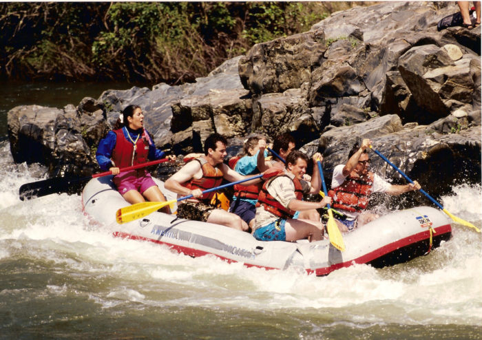 4. White Water Raft on the American River.