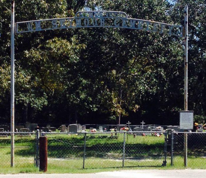 1. Seymour Cemetery a.k.a. Rock and Roll Graveyard - Bayou Talla Rd., Gulf Hills