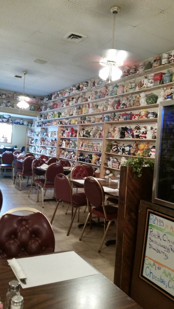 But Fuller's is almost as well known for their huge collection of cookie jars.