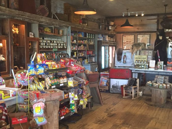 Maintaining the look and feel of a general store from yesteryear, you'll be transported back in time as soon as you step through the front door.