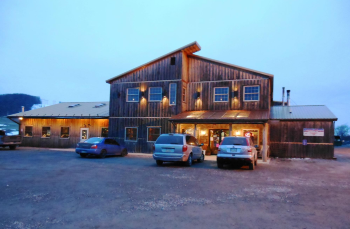 In the town of McHenry you'll find the incredibly unique Mountain State Brewing Company.
