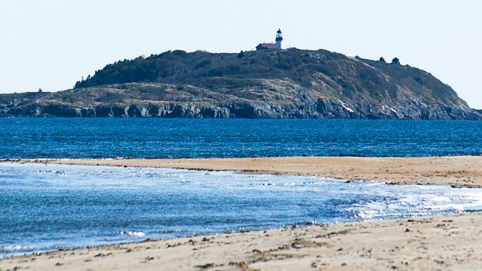 This area, at the mouth of the Kennebec River, is home to The Seguin Island Lighthouse.