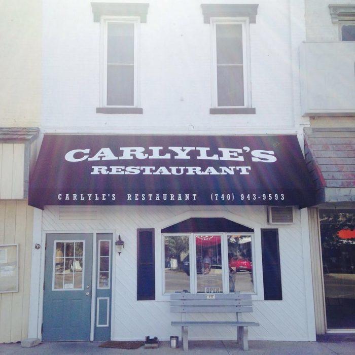 10. Carlyle's Restaurant (Richwood)