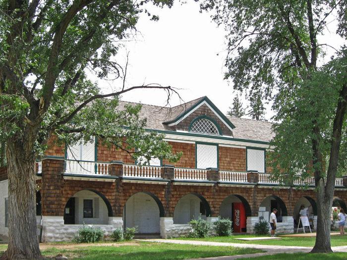 13. Fort Stanton, 104 Kit Carson Road, Fort Stanton