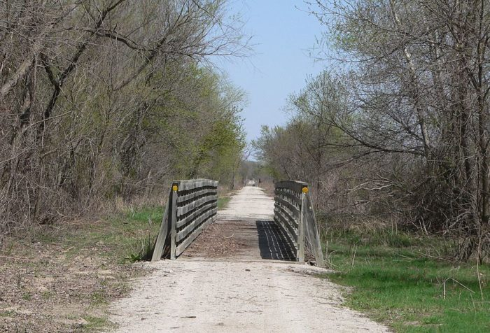 It's the longest rails-to-trails conversion in the country, covering 321 miles between Chadron and Norfolk.
