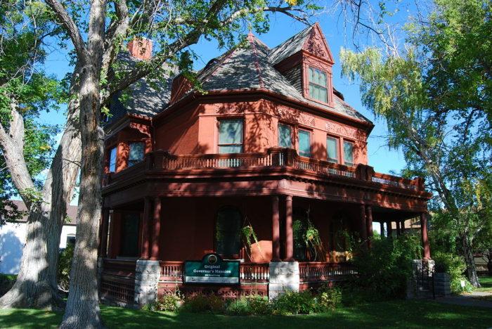7. The Original Governor's Mansion, Helena