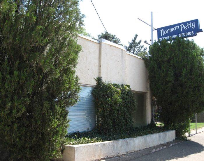 9. Norman Petty Studios, 1313 W. 7th Street, Clovis