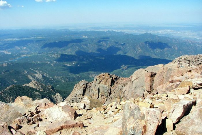 Just what was it about Pikes Peak that inspired Bates to write? For starters, there was this...