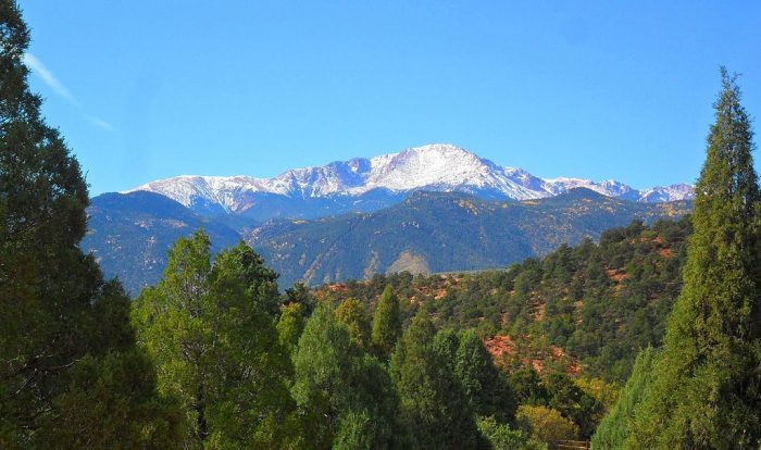 Although it was technically discovered centuries prior by both Native Americans and Spanish explorers, Pikes Peak was named for American pathfinder Zebulon Pike, who originally attempted his ascent in the early 1800s.