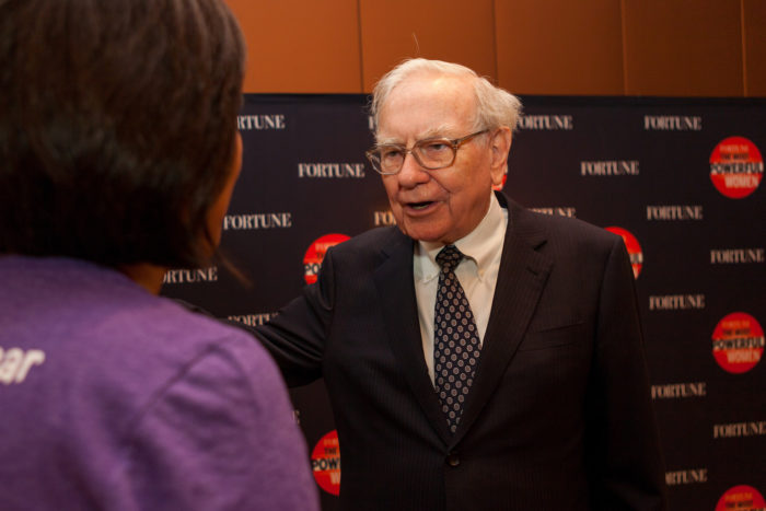 10. One of the richest people in the world