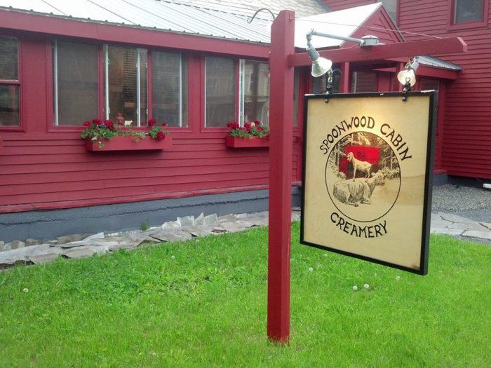 16.  Spoonwood Cabin Creamery - 3090 VT Route 100, Jacksonville