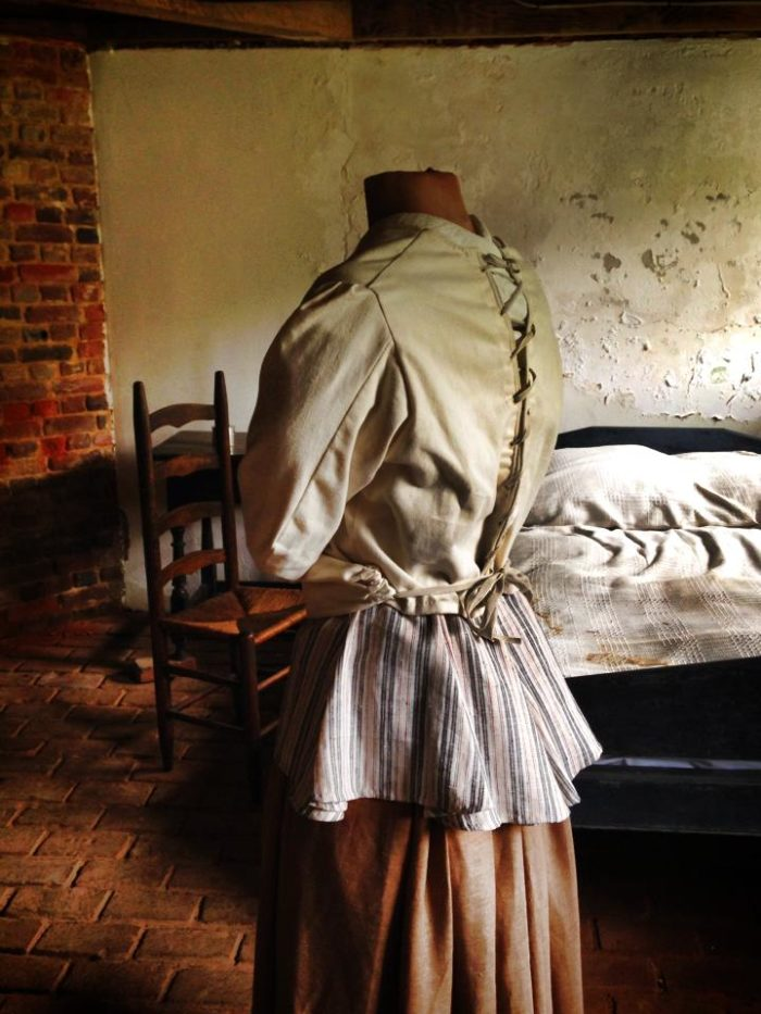 Many people feel that the ghost of Sarah Henry still resides at Scotchtown.