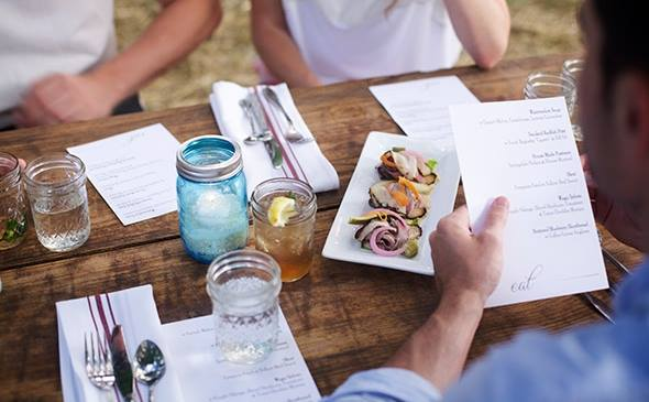 Dining al fresco is a perfect way to connect with friends and family.