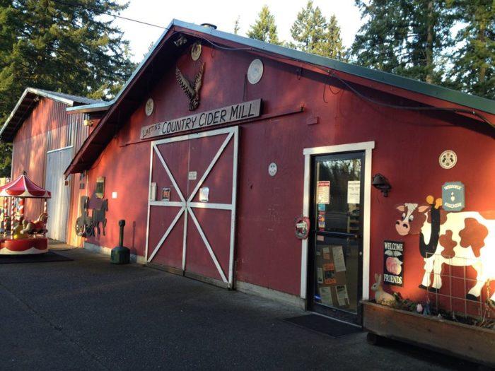9.  Lattin's Country Cider Mill & Farm, Olympia