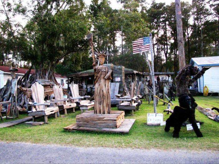 3. Adam's Cypress Swamp Driftwood Family Museum (Pierre Port)