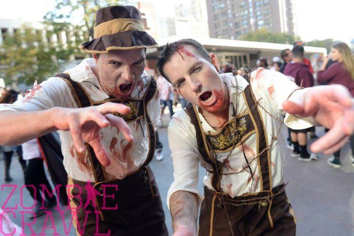 Saturday, October 22nd: Denver Zombie Crawl
