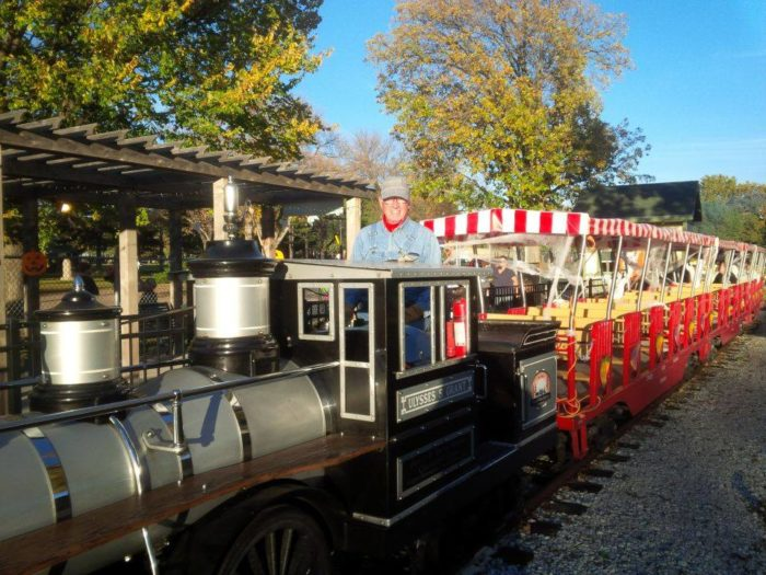 Dates for this year's Haunted Halloween Express are October 28th-30th. The train will run from 6 pm to 10 pm.