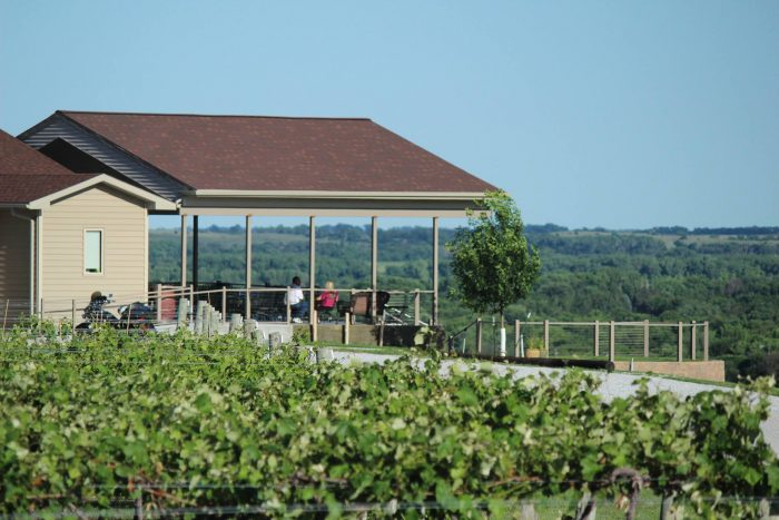 Located near St. Paul, Miletta Vista is one of the area's most beloved wineries.