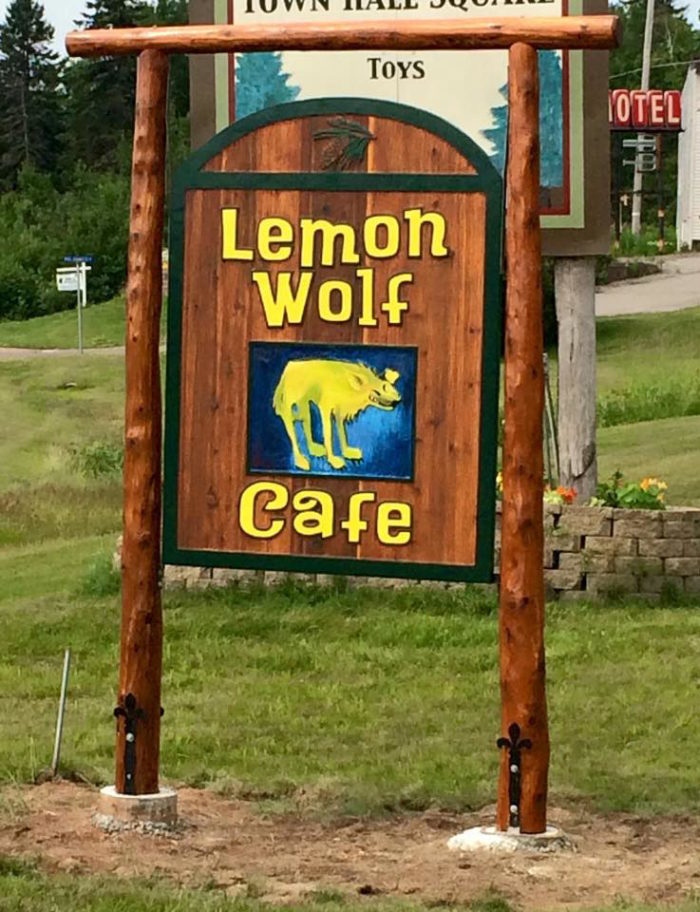 10. Lemon Wolf Cafe, Beaver Bay
